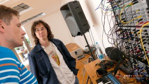 Bohdan s Kenem v diskuzi o Doepferu A100 System moduláru